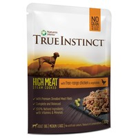 True Instinct High Meat Fillets Dog Food (Free Range Chicken) big image