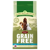 James Wellbeloved Adult Dog Grain Free Dry Food (Fish & Vegetables) big image