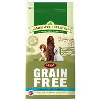 James Wellbeloved Adult Dog Grain Free Dry Food (Fish & Vegetables) big image