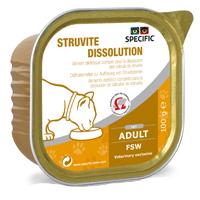 Specific Struvite Dissolution Feline FSW Cat Alutrays big image