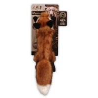 AFP Plush Fox Squeaker Dog Toy - Large big image
