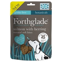 Forthglade Natural Soft Bite Treats (Salmon with Herring) 90g big image