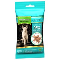 Natures Menu Real Meaty Treats for Cats 60g (Salmon and Trout) big image