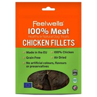 Feelwells 100% Meat Healthy & Natural Dog Treats (Chicken Fillets) 100g big image