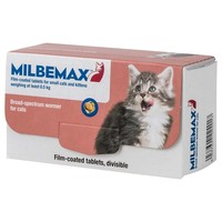 Milbemax Worming Tablets for Small Cats and Kittens big image