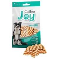 Calibra Joy Dental Chicken Waves Treats for Dogs 80g big image