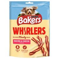 Bakers Whirlers Dog Treats (Bacon & Cheese) big image