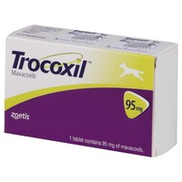 Trocoxil 95mg Chewable Tablet for Dogs big image