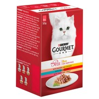 Purina Gourmet Mon Petit Duo Wet Cat Food (Fish Selection) big image