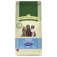 James Wellbeloved Senior Dog Dry Fish (Fish & Rice) big image
