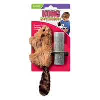 Kong Refillables Beaver Catnip Cat Toy big image