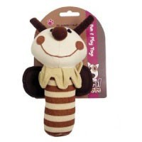Natural Nippers Shake & Rattle Dog Toy big image