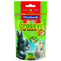 Vitakraft Rabbit Fruit Crossys Banana and Apricot 50g big image