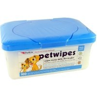 Petkin PetWipes 100 Pack big image
