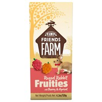 Supreme Tiny Friends Farm Russel Rabbit Fruities with Cherry & Apricot 120g big image