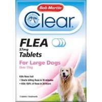 Bob Martin Clear Flea Tablets for Large Dogs (3 Pack) big image