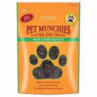 Pet Munchies Beef Liver Crunch Treats for Dogs 90g big image