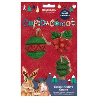 Rosewood Cupid & Comet Edible Festive Gnaws (Pack of 3) big image