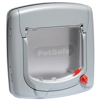 Petsafe Staywell Deluxe 4 Way Manual Cat Flap (Grey) big image