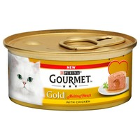 Purina Gourmet Gold Melting Heart Tins for Cats (Chicken) big image