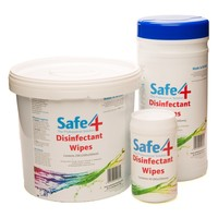 Safe4 Disinfectant Disinfecting Wipes big image