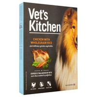 Vet's Kitchen Adult Dog Wet Food Trays (Chicken with Wholegrain Rice) big image