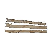 Bravo Premium Peanut Butter Rawhide Twisted Stick (25cm) big image
