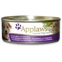 Applaws Adult Dog Food in Broth 12 x 156g Tins (Chicken with Vegetables) big image