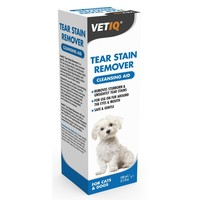 VetIQ Tear Stain Remover Cleansing Aid for Cats and Dogs big image