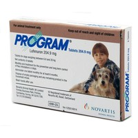 Program Tablets 204.9mg Brown for Medium Dogs (Pack of 6) big image