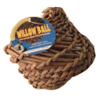 Natures Best Willow Ball for Small Animals big image