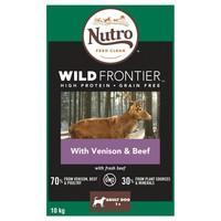 Nutro Wild Frontier Adult Medium Dog Dry Food (Rich in Venison & Beef) big image