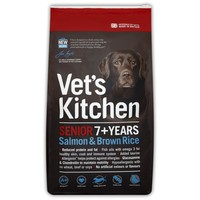 Vet's Kitchen Senior Dog Food 7.5kg (Salmon & Brown Rice) big image