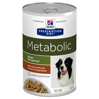 Hills Prescription Diet Metabolic Tins for Dogs (Stew with Chicken & Vegetables) big image