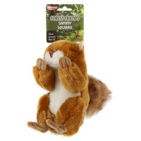Sammy Squirrel Squeaky Dog Toy (Small) big image
