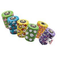 Wrapz Funny Farm Cohesive Bandage Variety 12 Pack big image
