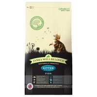 James Wellbeloved Dry Food for Kittens (Fish & Rice) 1.5kg big image