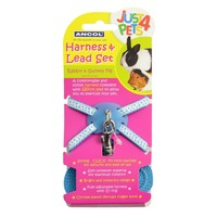 Ancol Just 4 Pets Harness and Lead Set for Rabbits and Guinea Pigs big image