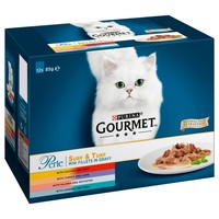 Purina Gourmet Perle Wet Cat Food (Surf and Turf) big image