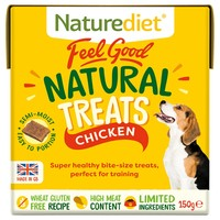 Naturediet Feel Good Natural Dog Treats (Chicken) 150g big image