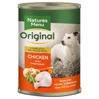 Natures Menu Original Adult Dog Food Cans (Chicken) big image