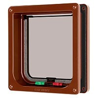Cat Mate 4 Way Locking Cat Flap and Door Liner 235 big image