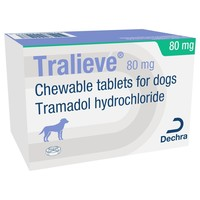 Tralieve 80mg Chewable Tablets for Dogs big image
