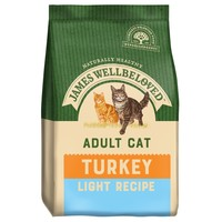 James Wellbeloved Adult Cat Light Dry Food (Turkey) big image