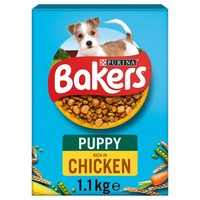 Bakers Puppy Dry Dog Food (Chicken with Vegetables) big image