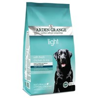 Arden Grange Light Adult Dog Dry Food (Chicken & Rice) big image
