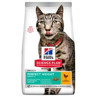 Hills Science Plan Perfect Weight Adult Dry Cat Food (Chicken) big image