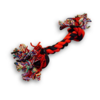 Multi Coloured Cotton Tugger Toy - Medium big image