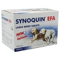 Synoquin EFA Joint Supplement for Large Breed Dogs big image