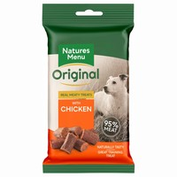 Natures Menu Original Real Meaty Treats for Dogs 60g (Chicken) big image